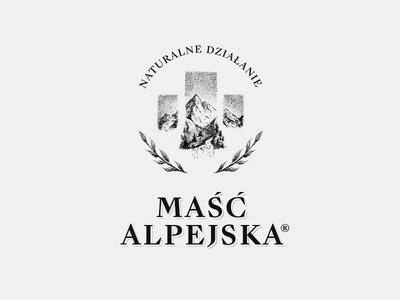 Maść Alpejska logo