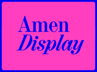 Amen Display