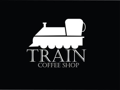 Coffee Shop Logo app ux adobe train vector web ui typography branding illustrator logo