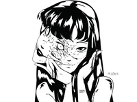 Manga animation aesthetic adobe animeart mangaart manga design art illustration illustrator typography vector