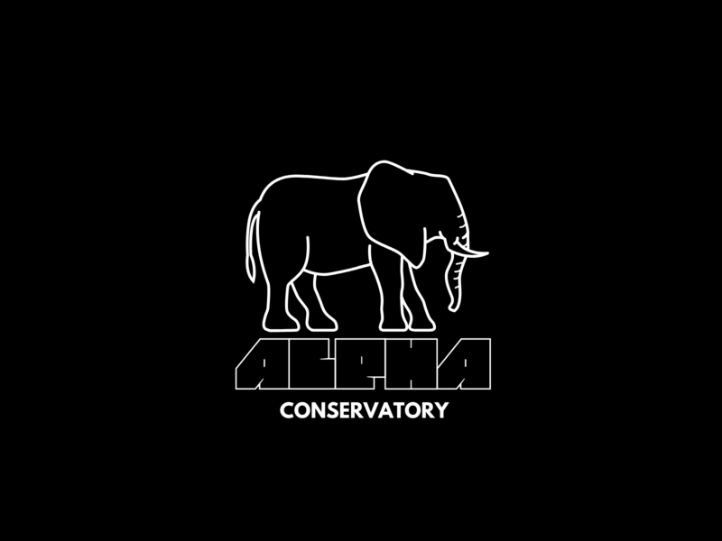Animal conservation initiative brand.