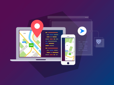 Developer Illustration api apps documentation sdk maps codding development kit developer code