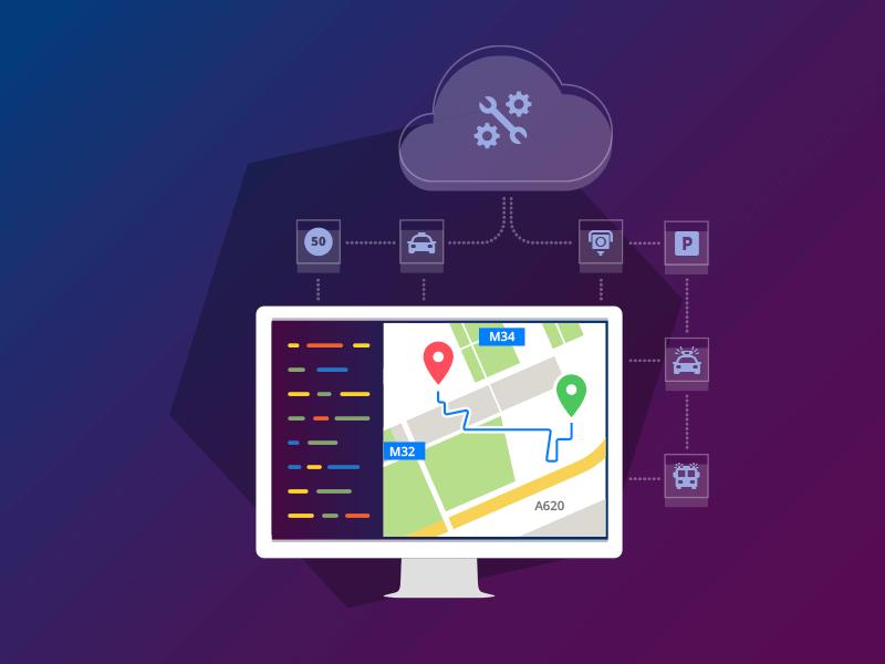 Maps API route cloud navigation enterprise locations maps api code developer monitor desktop