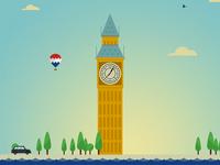 LONDON series, 2 of 14: Big Ben