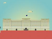 LONDON series, 3 of 14: Buckingham Palace