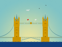 LONDON series, 6 of 14: Tower Bridge