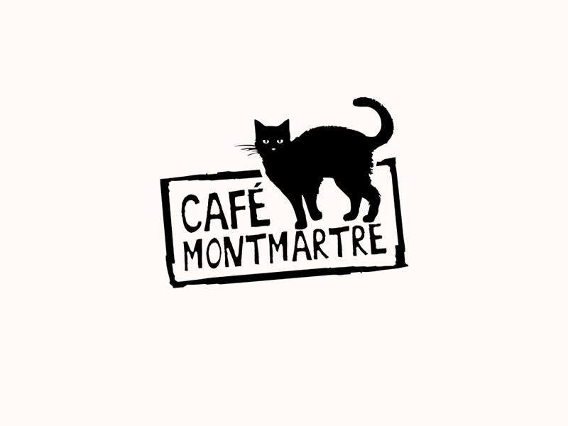 Café Montmartre. Logo Design