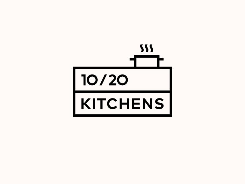10/20 KITCHENS. Logo Design by Gediminas Medžiaušis on ...