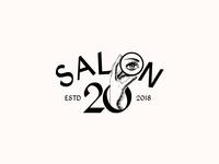 SALON 20. Logo Design
