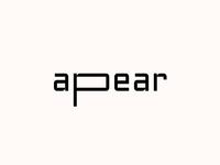 APEAR. Logo Design