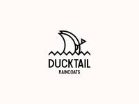 DUCKTAIL RAINCOATS. Logo Design