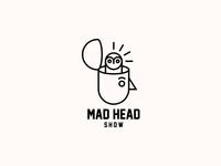 MAD HEAD SHOW. Logo Design