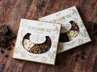 Ruta Chocolate Pizza. Packaging Design