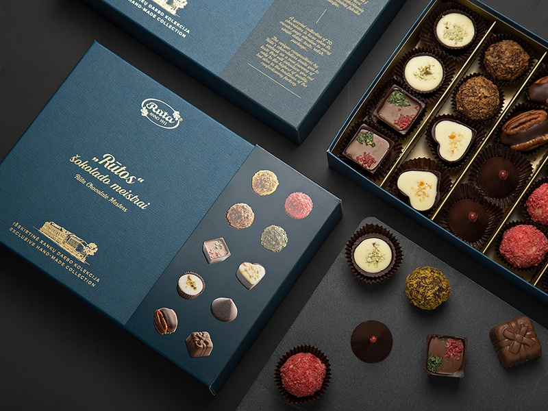 Ruta Chocolate Masters Collection. Packaging Design food hand made hand gold royal box package packaging luxury collection candy sweets chocolate