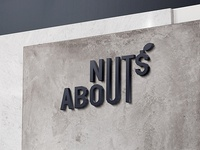 NUTS ABOUT. Logo Design