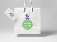 KINDER PLANET. Logo Design