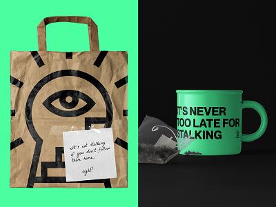 STALKER. Logo & Branding illustration linear mark symbol black stalker stairs music minimal logo design logotype logo eye branding brand