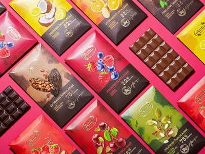 Rūta. Line of 8 chocolates handmade luxury confectionery food packaging design packaging chocolate