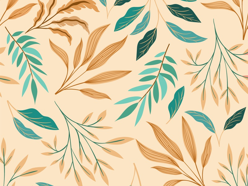 Daily UI 059 Background Pattern leaves pattern design pattern art patterns pattern background design background image background adobe illustrator adobe user experience ux user interface vector ui illustration dailyuichallenge dailyui illustrator design