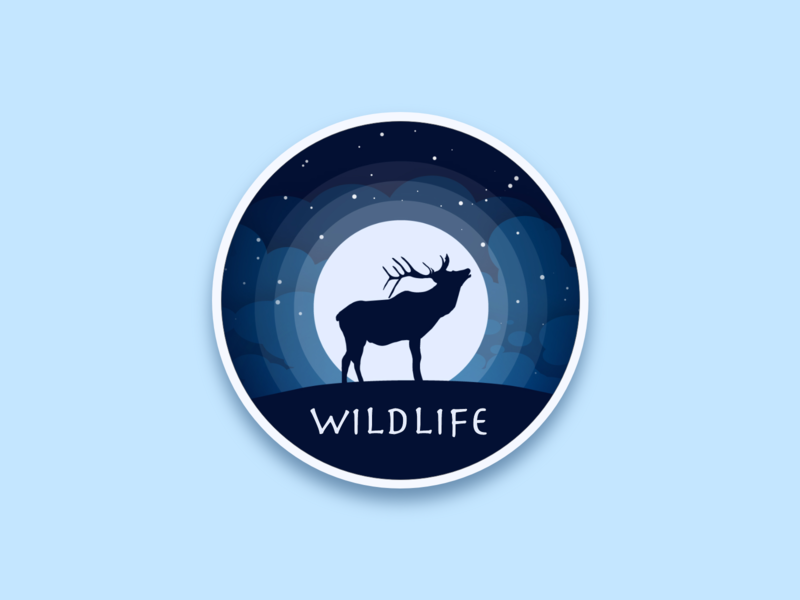 Daily UI 084 Badge wildlife badge logo badge design badgedesign badges badge adobe illustrator adobe adobe xd adobexd user experience ux user interface vector ui illustration dailyuichallenge dailyui illustrator design