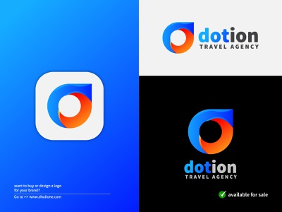 Dotion Logo | d Letter+Location icon logo design location app modern location d logo location pin app icon abstract logo modern logo logo logo idea logo inspiration colorful logo brand identity logodesign branding