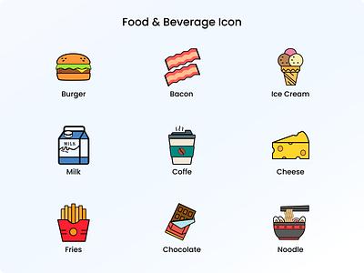 Food & Beverage Icon vector illustration iconography icons icon design icon set icon