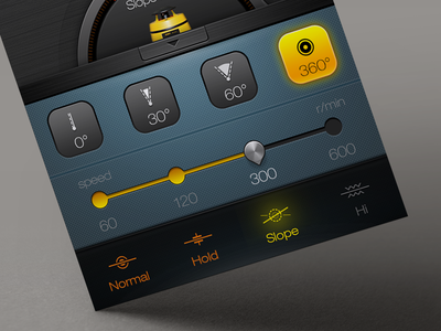 An app for an Laser level meter