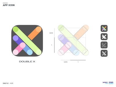 Daily UI challenge #005 — App Icon icon app — 005 challenge ui daily