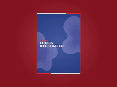 Sneak Peek of Redaco's LOGICS Book book cover book mockup book mockup magazine animation branding illustration minimal design