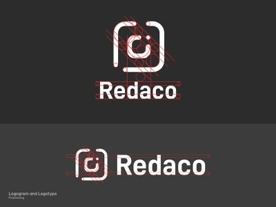 Redaco's Complex Logo Positioning web flat website animation mobile app logo branding illustration minimal design