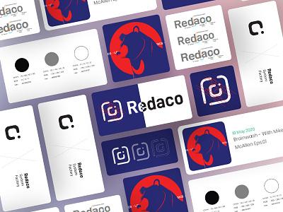 Design Approach of Redaco uiux ui design ui kits ux ui web ui  ux website branding illustration minimal design