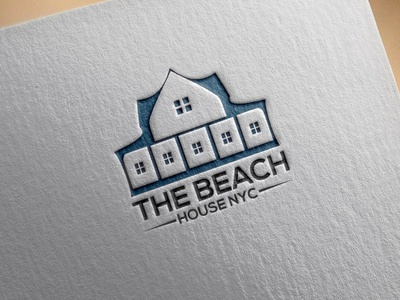 The Beach House NYC logoidenty logomark art creative logo maker brand logo idea logo inspiration best logo logotype logos design logo design logodesign 3d ui graphic design branding logo