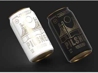 Adobe Liiiiive coast label california brewery gold cans beer