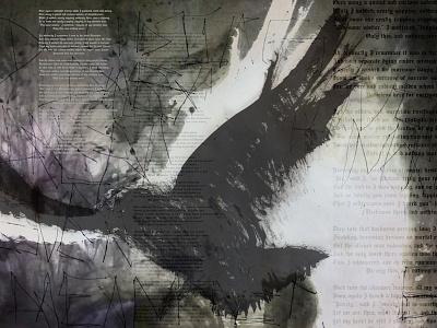 Bird graphic design typography photography