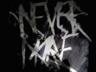 Nevermore Eight graphic design typography photography