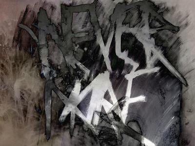 Nevermore Nine graphic design typography photography