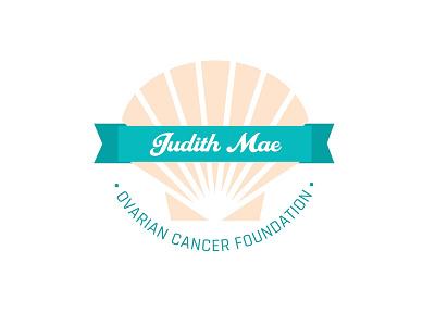 Ovarian Cancer Logo graphic design logo typography senior thesis ovarian cancer illustration campaign