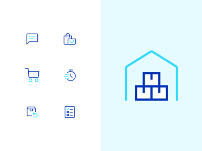Icon design for eCommerce