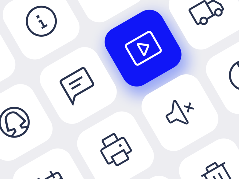 Custom icons for eCommerce ui icons iconography delivery truck delivery uidesign ui icons icon designer icon design line icons outline icons icon set ecommerce custom icons website icons