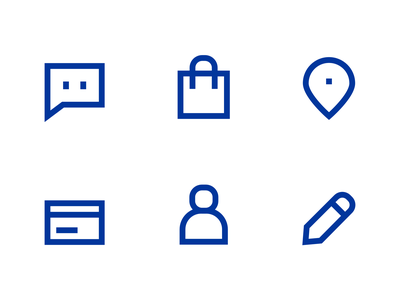 Custom icons for Danish fashion brand vector freelancer icon designer ecommerce custom icons icon set line icons outline icons ui ui icons icons icon design