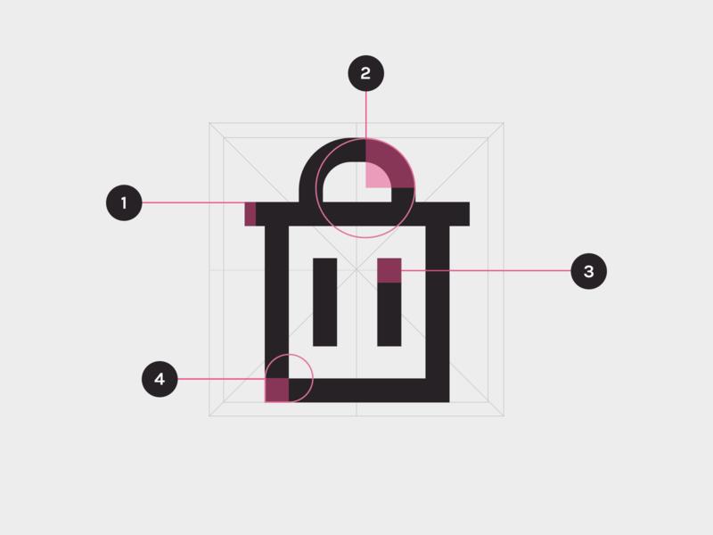 Icon Grid ui icon outline icons corners grid ui icons line icons custom icons iconography icon designer icon design icon set icon grid