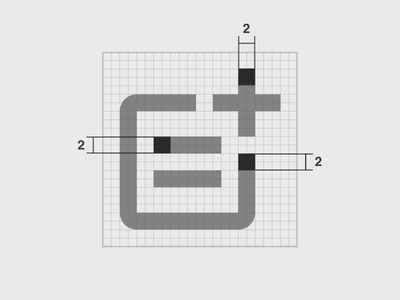 Strokes - Simplenote Icon System ui design grid custom icons ui icons iconography icon design line icons outline icons ui system strokes icon grid icon designer freelance