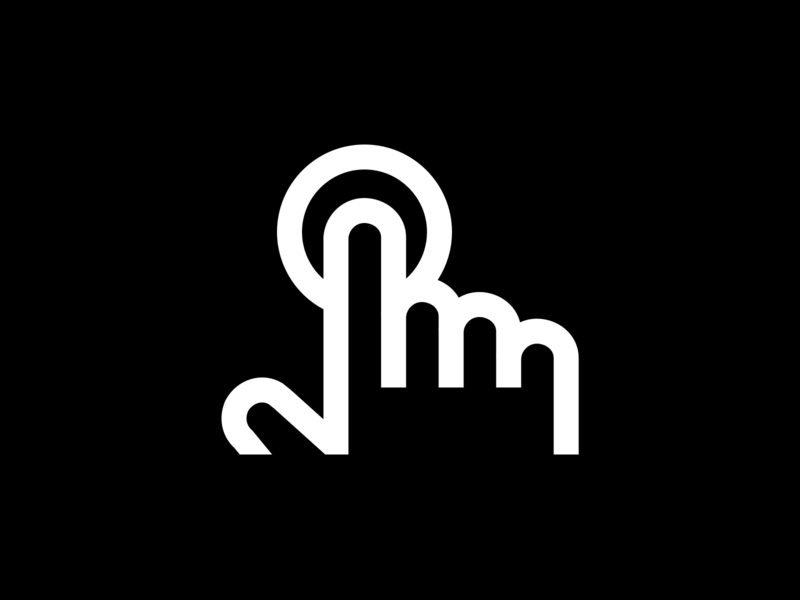 Tap icon pictogram hand tap custom icons icon design icon designer freelance outline line icon icon iconography
