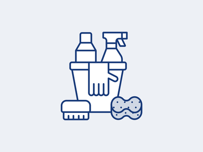 Cleancult Illustrative icons clean cleaning branding icon set xicons pictogram set illustration vector icons iconography icon
