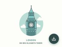 FREE Illustration - London
