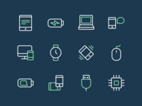 24 Free Tech And Devices Icons