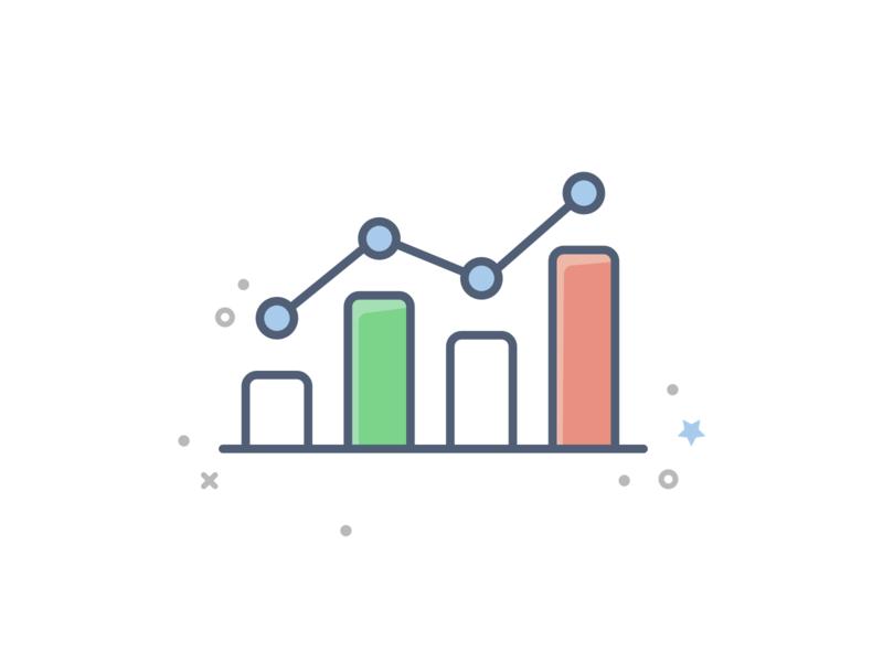 Freebie - 20 Business And Finance icons free download free icon download free illustration free icon freebie growth finance chart analytics bar graph