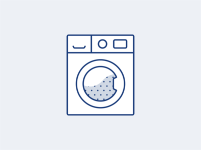 Washing Machine illustrative icon