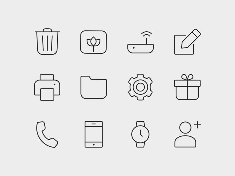 ONE - Premium icon pack ui iconography icon design vectors outline icons icon pack icon set icons premium