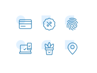 Custom icon design for eCommerce